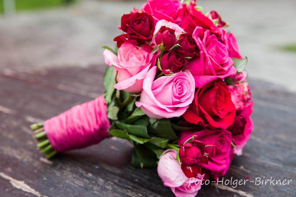 Brautstrau  Farbpalette  Brautstrue Brautstrau pink und Tischdekoration hochzeit