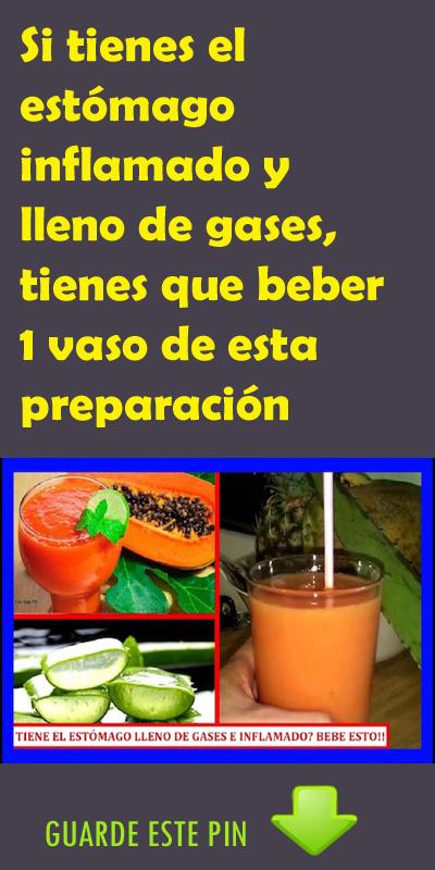 Si Tienes El Estómago Inflamado Y Lleno De Gases Tienes Que Beber 1 Vaso De Esta Preparación Estómago Gases Inflamado Stuffed Peppers Vegetables Food