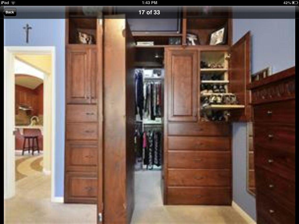 Hidden Closet · Hidden ClosetSecret RoomsCloset IdeasFuture House