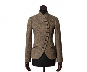 harris tweed blazer womens brown - Google Search | I only show ...