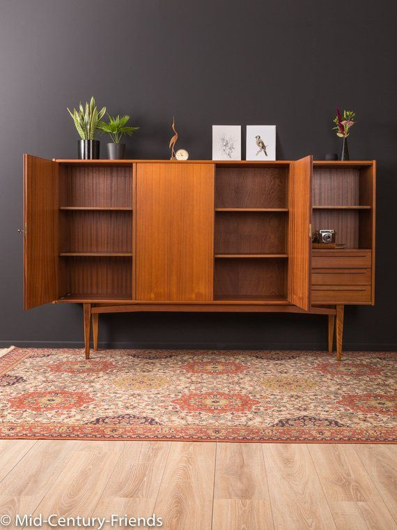 60s Highboard Bartels Sideboard 50s Vintage In 2019 Möbel