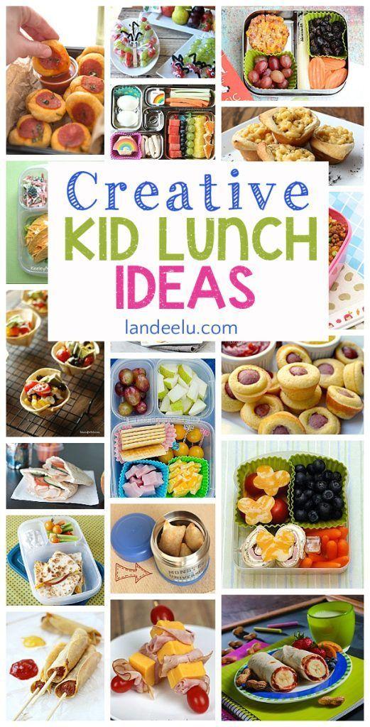 Creative School Lunch Ideas