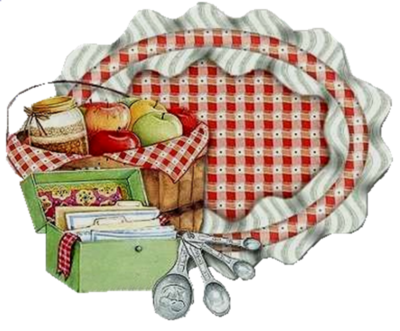 Country Living. | Kitchen clipart, Fancy recipe cards ...