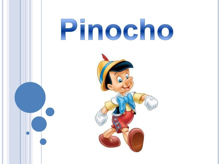 pinocho essay Adventures of pinocchio: story of a puppet, translated and edited by nicolas  james  the present essay cast my critical net wide, even at the risk of catching.