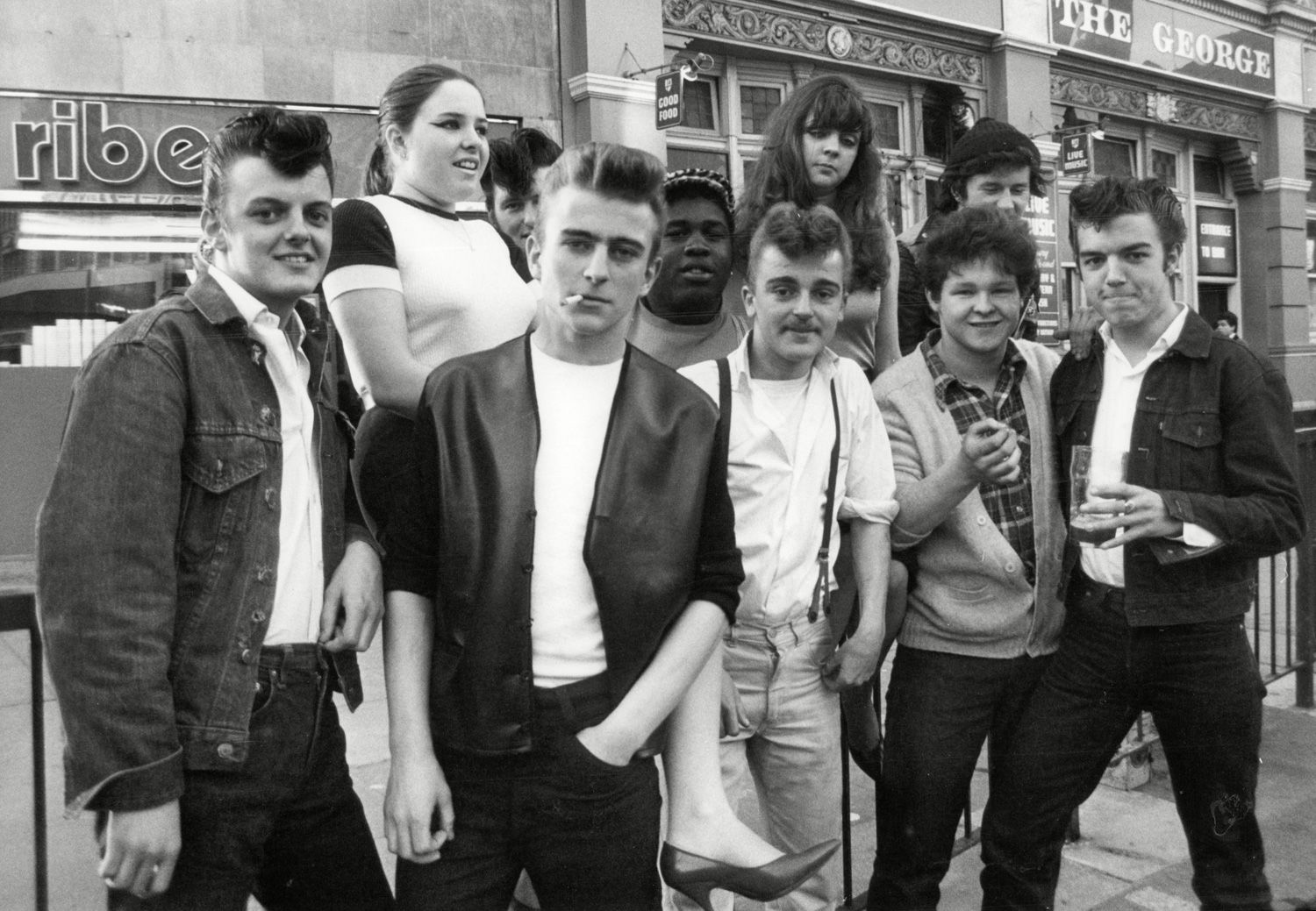 These Incredible Pictures Of Teddy Boys Give Us A Glimpse
