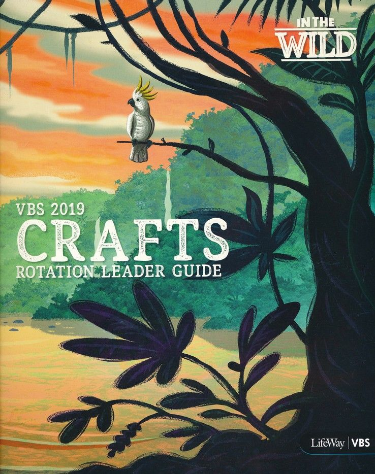 In The Wild: Crafts Rotation Leader Guide | VBS Theme 2019