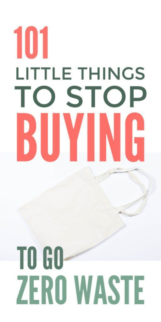 101 Things To Stop Buying