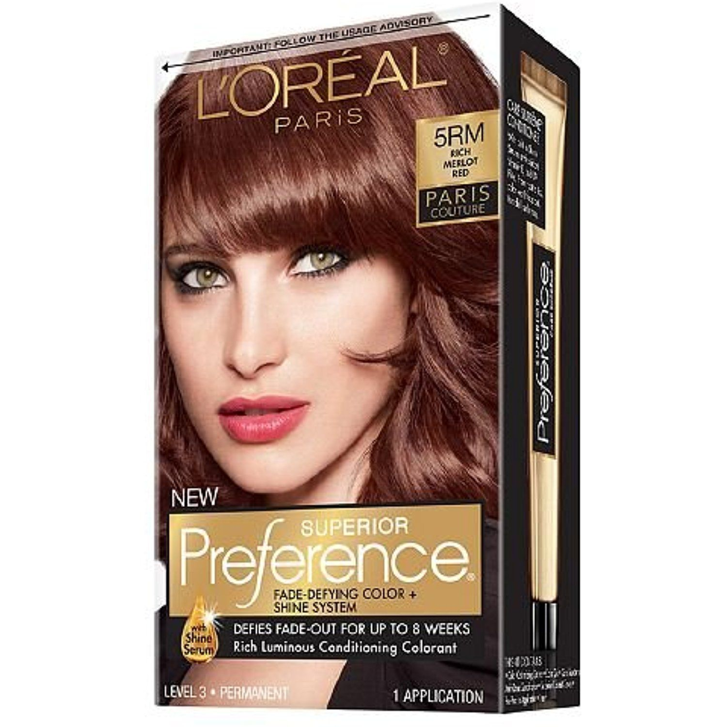 L Oreal Superior Preference Paris Couture Haircolor Rich Merlot Red 5rm 1 Ea You Can Find Out Mor Loreal Hair Color Loreal Hair Color Coupons Hair Color