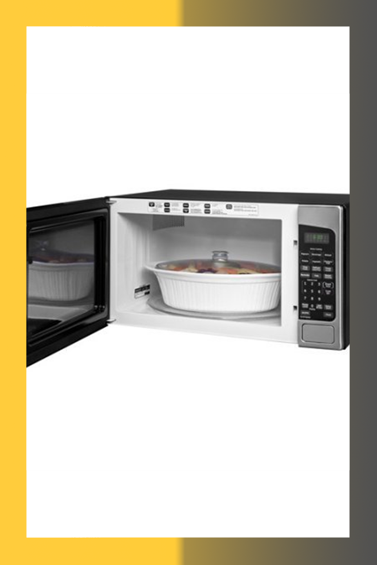 Ge Jes2051snss 2 0 Cu Ft Stainless Steel Countertop Microwave