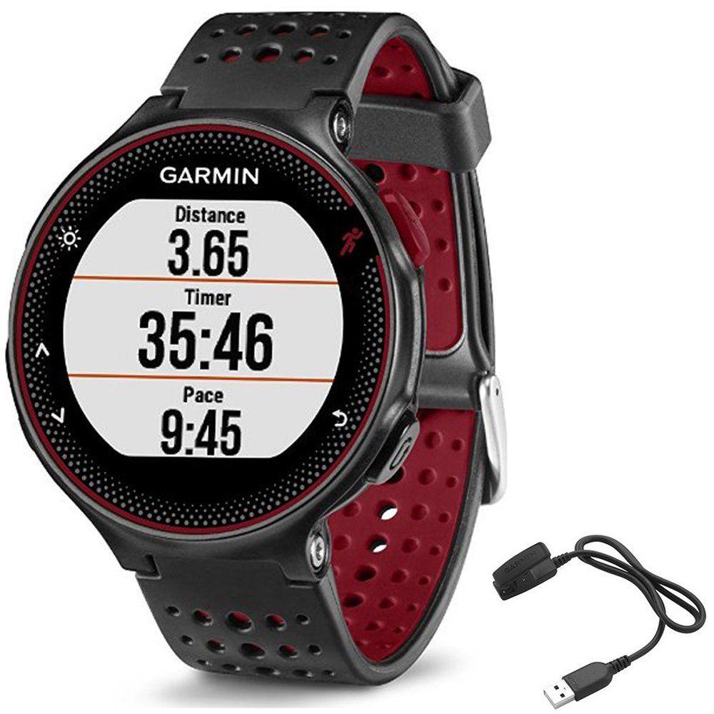 Garmin Forerunner 235 GPS Sport Watch Marsala Charging