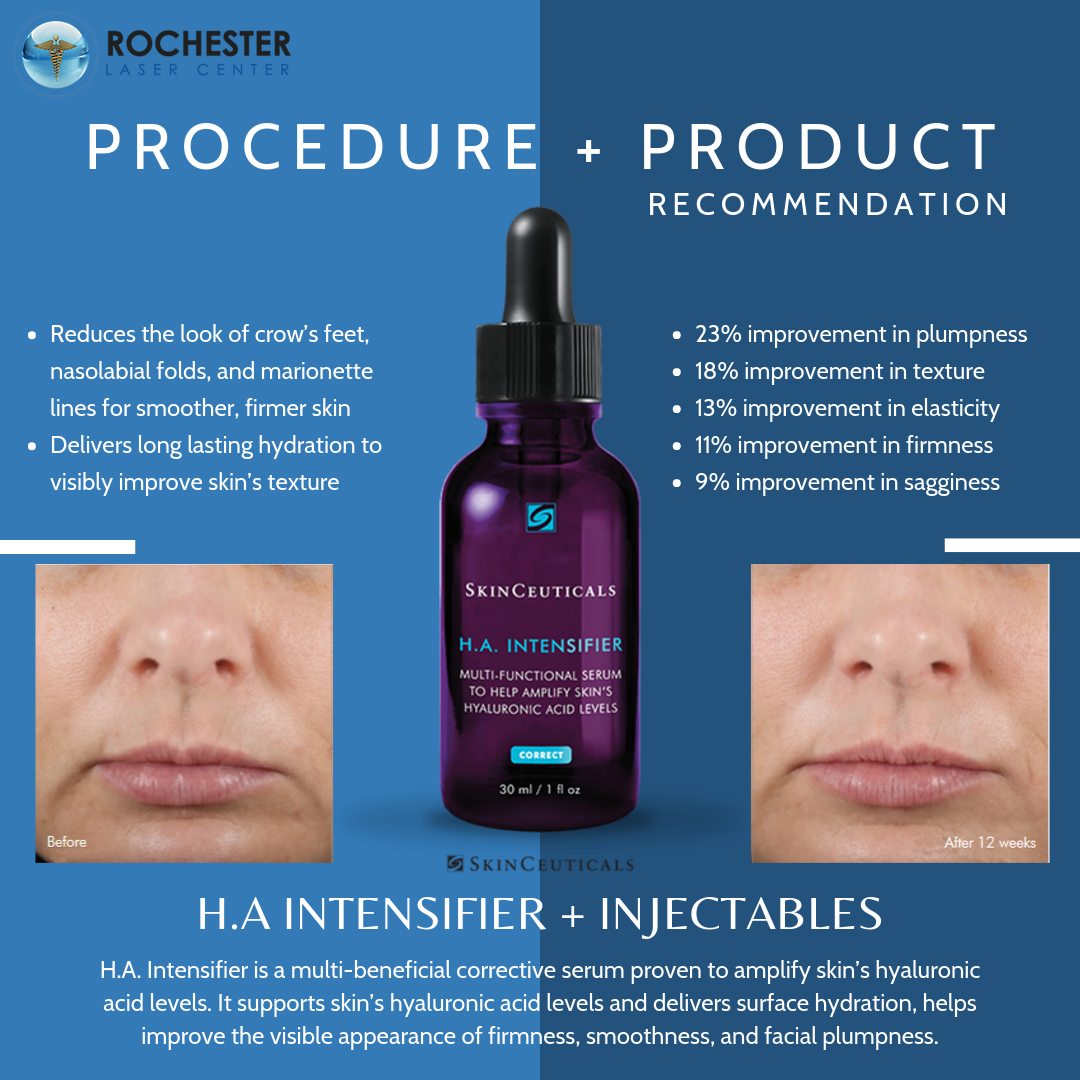 Ha Intensifier Is One Of Our Most Popular Skinceuticals Products It S Especially Great As A Complement To Your Botox Improve Skin Texture How Does Botox Work