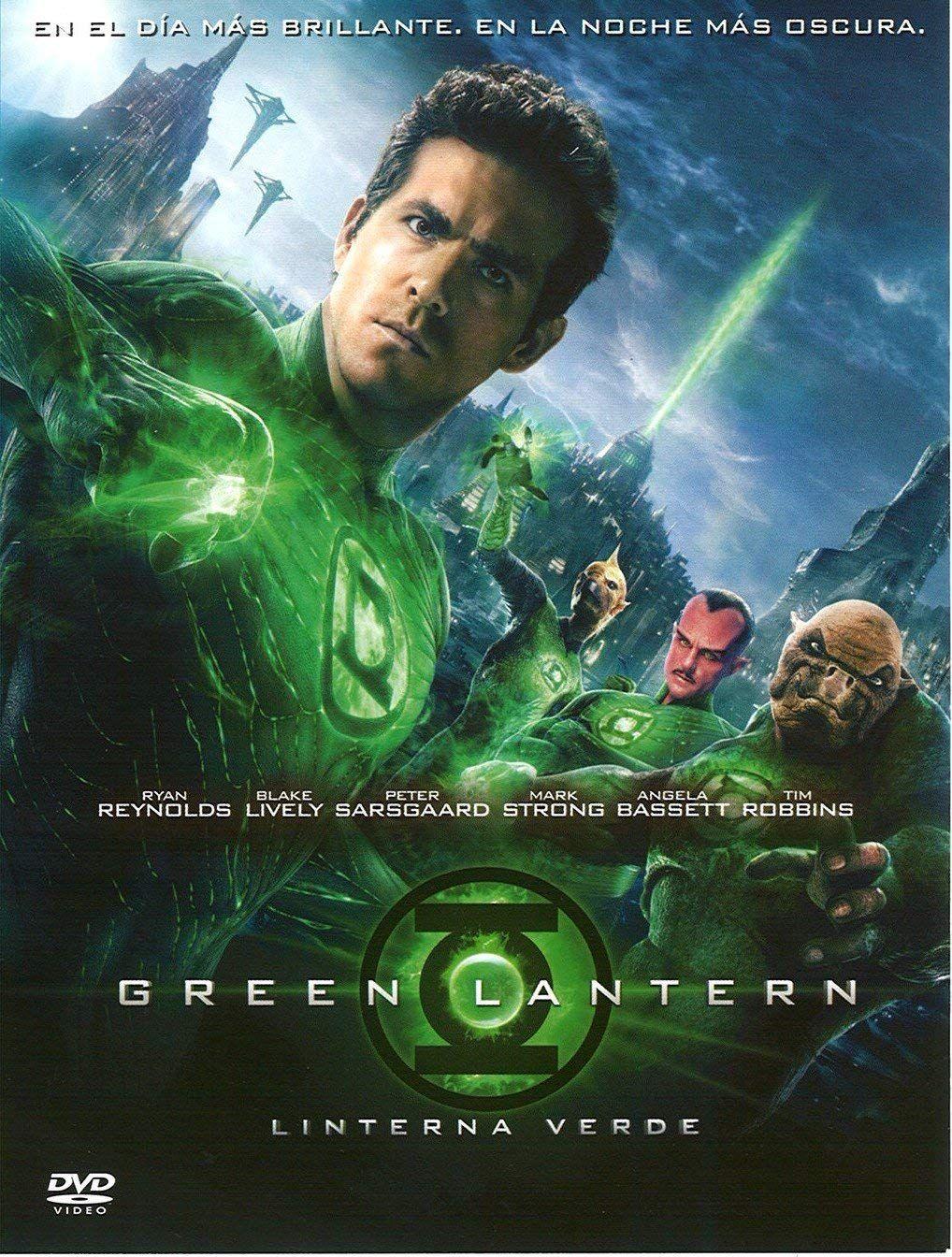 Linterna Verde [DVD] Linterna, Verde, DVD Green