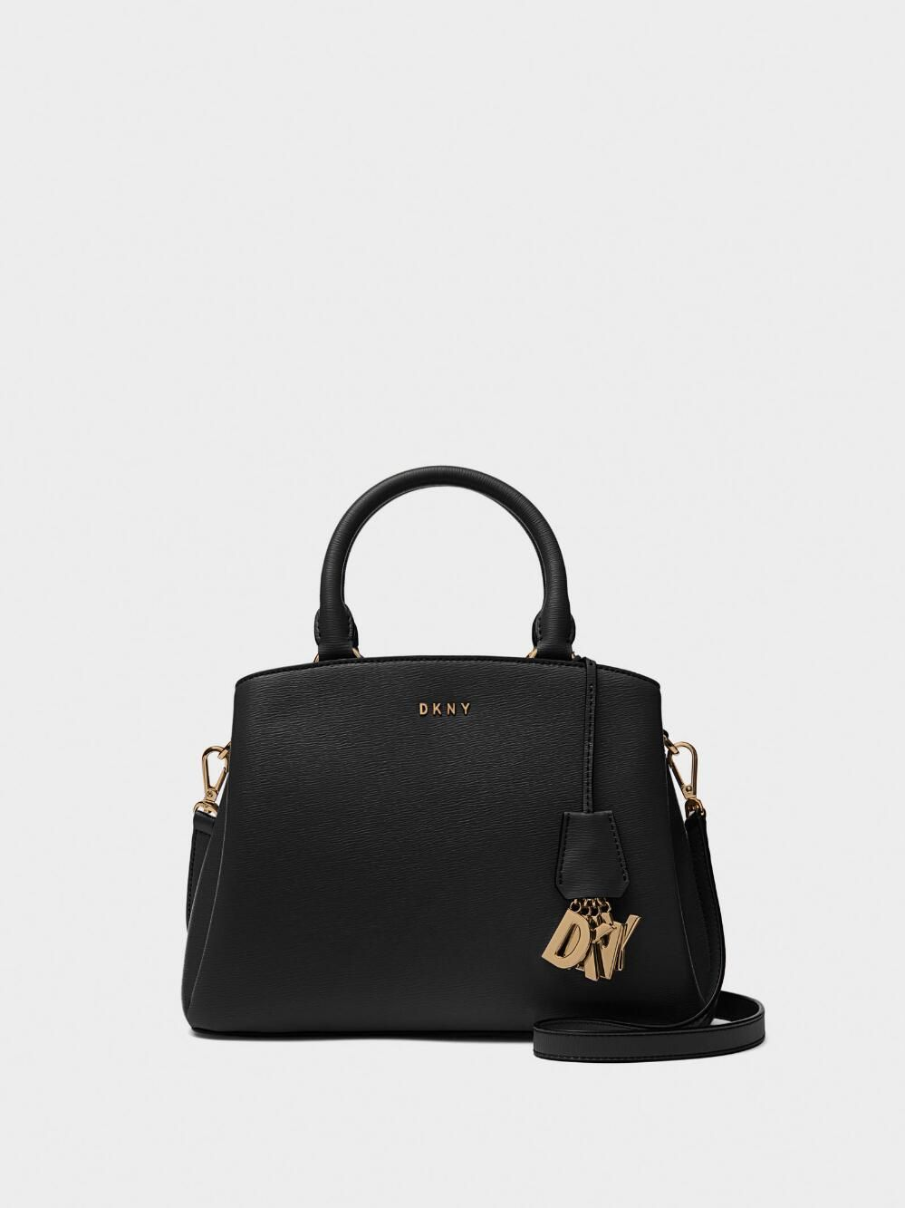 DKNY PAIGE LEATHER SATCHEL Cow Leather, Leather Satchel, Leather Briefcase,  Leather Bag 5ae4095357