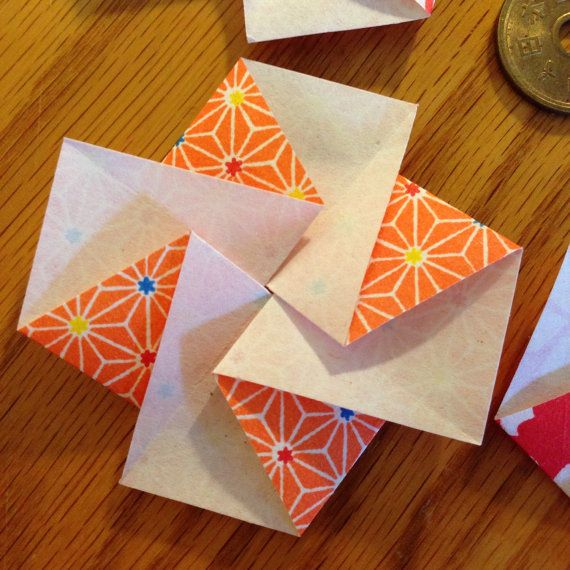 Five japanese flower blossom tato origami envelopes or flat five japanese flower blossom tato origami by easypeasyjapaneasy mightylinksfo