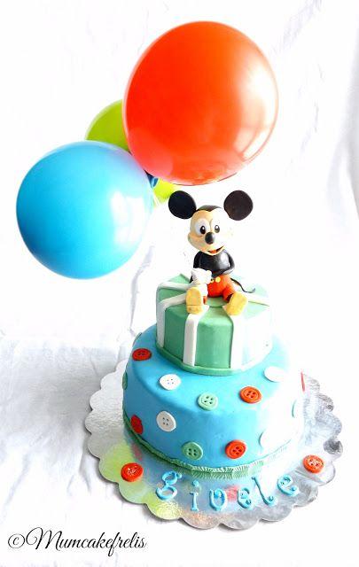 Torta Topolino - Mickey mouse cake