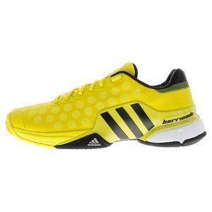 Order yours today >> http://www.tennisexpress.com/adidas-mens-barricade-2015 -tennis-shoes-bright-yellow-and-black-45246 #TennisExpress