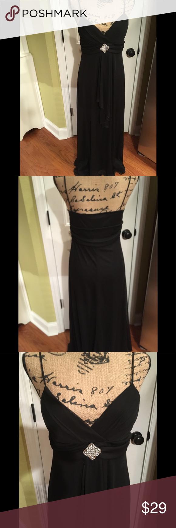Gorgeous black evening gown by b smart size my posh closet