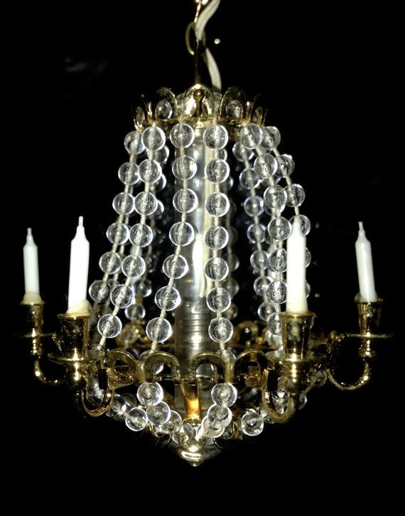 German Dollhouse Miniature Chandelier Stunning By Asianpacificco