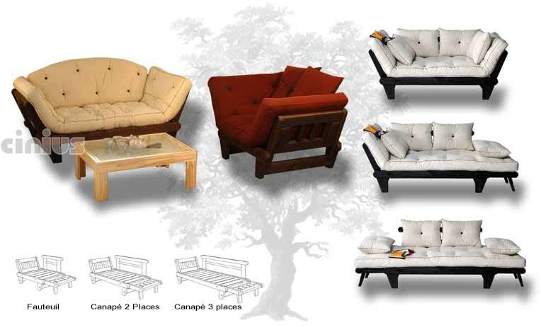 canap lit sole fauteuil canap 2 et 3 places - Canape Lit Futon
