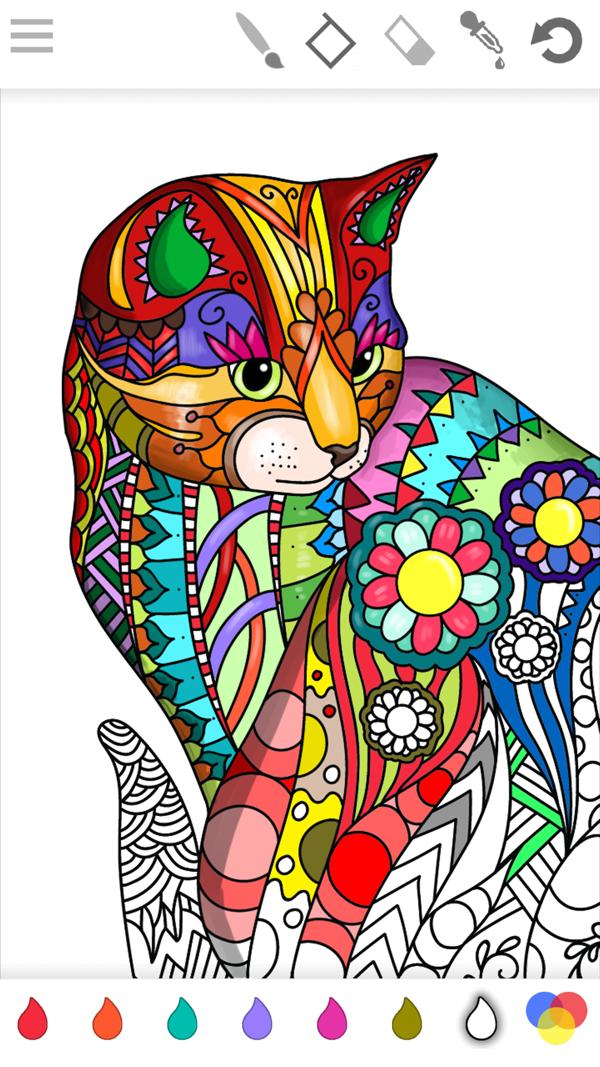 Colorish Coloring Book Mandala On The App Store Mandala Coloring Books Coloring Books Mandala Coloring