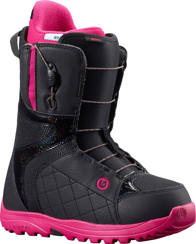 aae3e2bfeafd Burton Mint Snowboard Boots Black Hot Pink Womens
