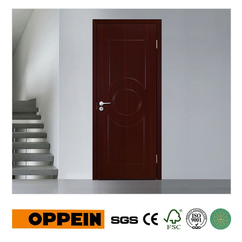 Moderne de Haute Qualité Unique Porte MDF Porte Intérieure avec PVC ...