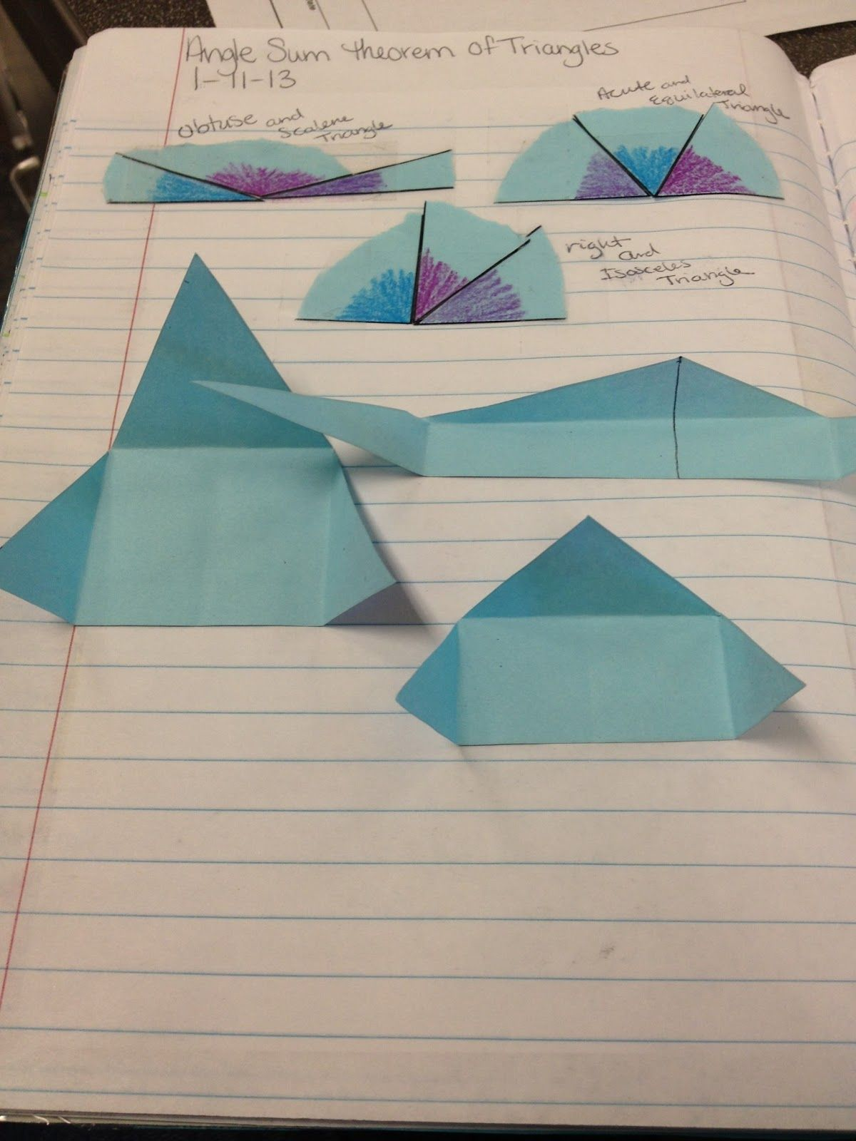 Angle Sum Theorem It S Not A Rigorous Proof But It S A