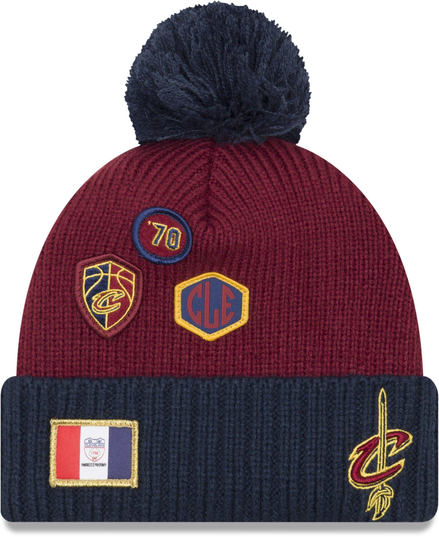 a65ecc27abf Cleveland Cavaliers New Era NBA 2018 Draft Knit Bobble Hat – lovemycap