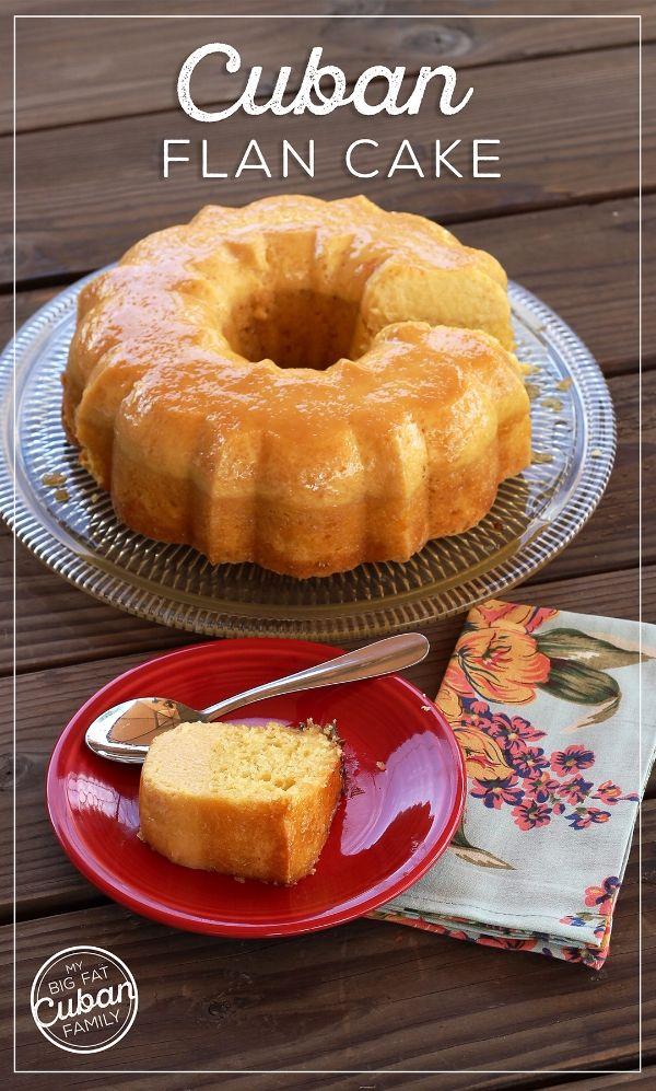 Flan Cake Recipe - How To Make Flan Cake - My Big