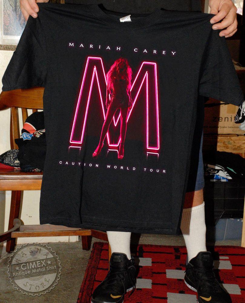 Mariah Carey  caution  world tour 2018 - 2019 Black Gildan T-Shirt  fashion   clothing  shoes  accessories  mensclothing  shirts (ebay link) 2020cd3b6