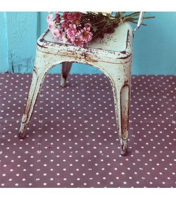 carreau de ciment petit pois prune petit pan vivre en multicolore carrelage et fa ence. Black Bedroom Furniture Sets. Home Design Ideas