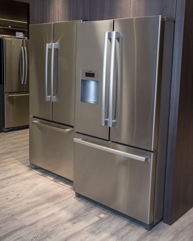 kitchenaid french door refrigerator counter depth white