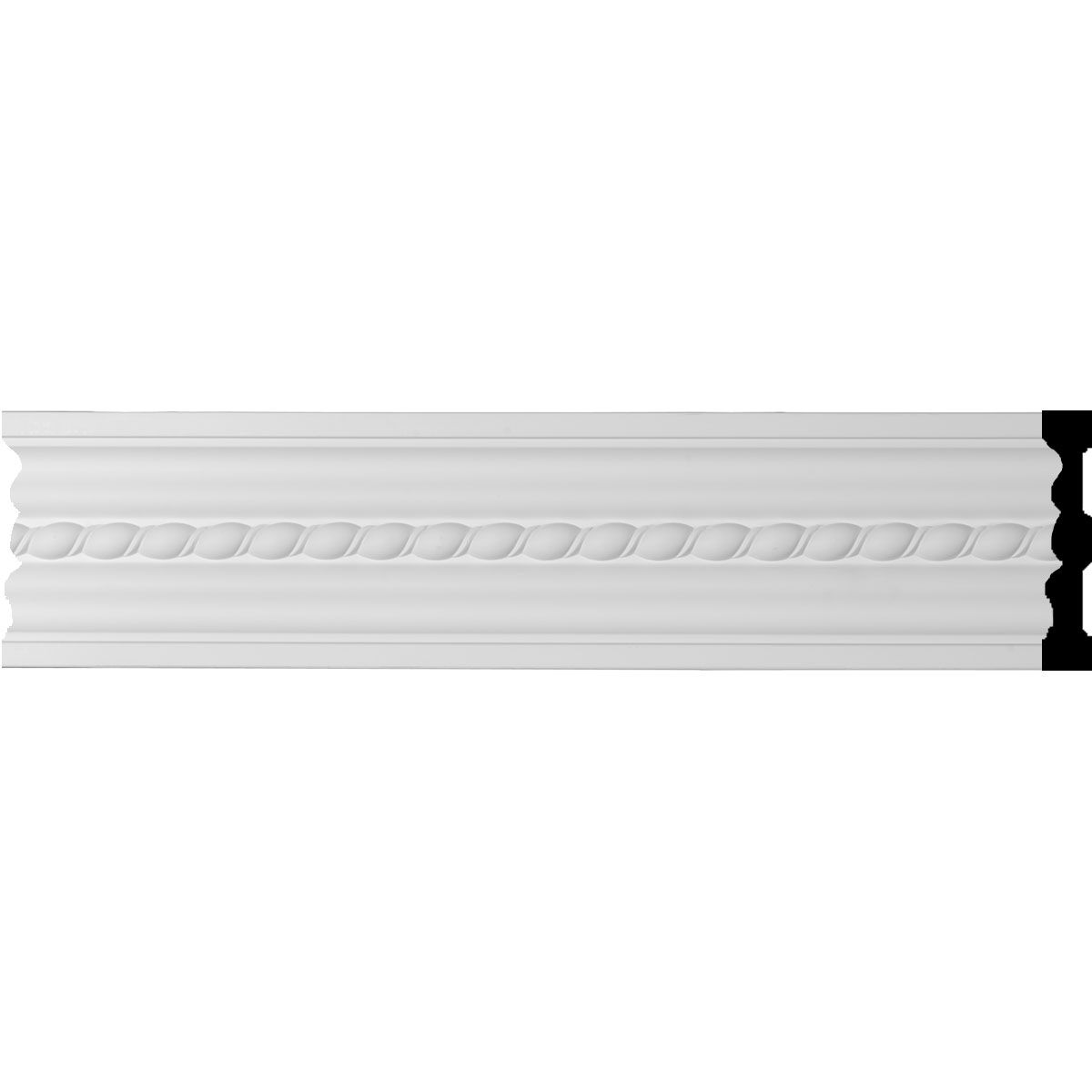 """PU Molding 2/"""" Height  Chair Rail Panel Moulding"""