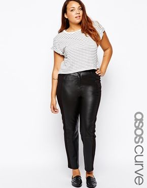 c90cbebd8d769 ASOS+CURVE+Exclusive+Leather+Trousers+With+Ponti+Back