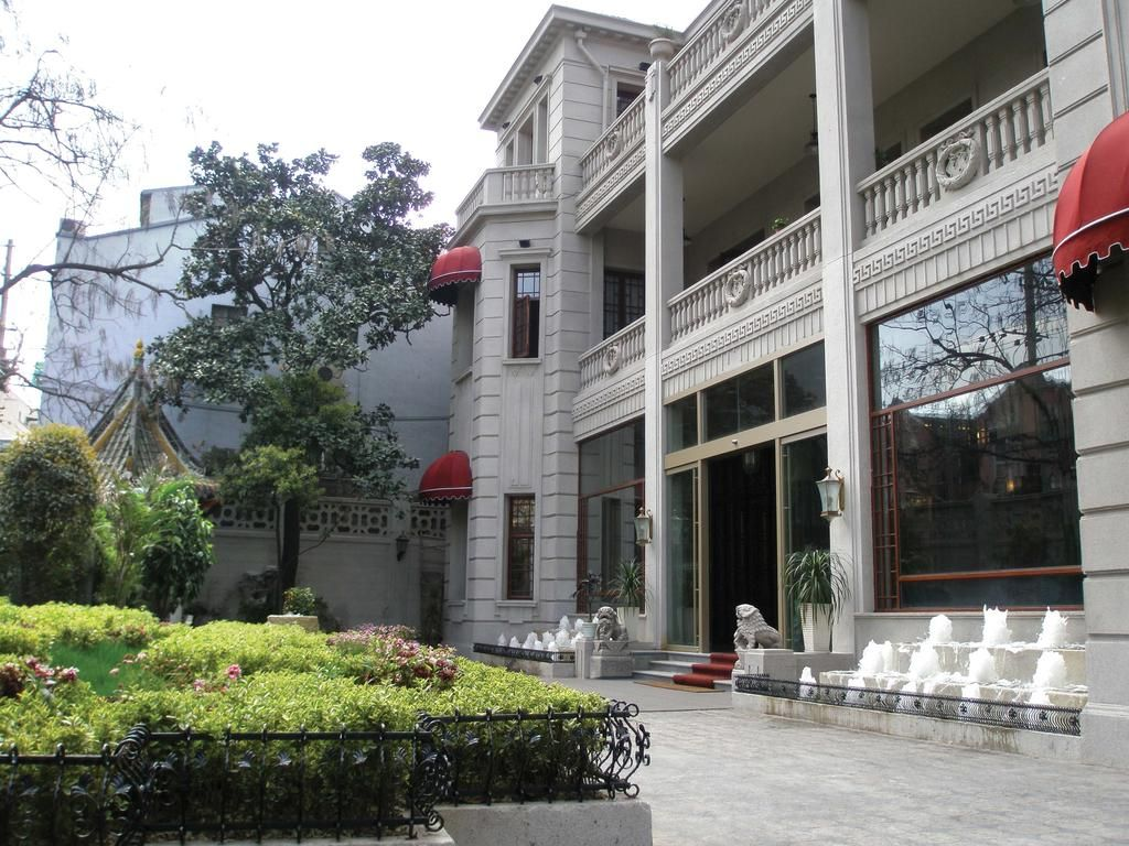 The Mansion Hotel Shanghai was originally built as the club house