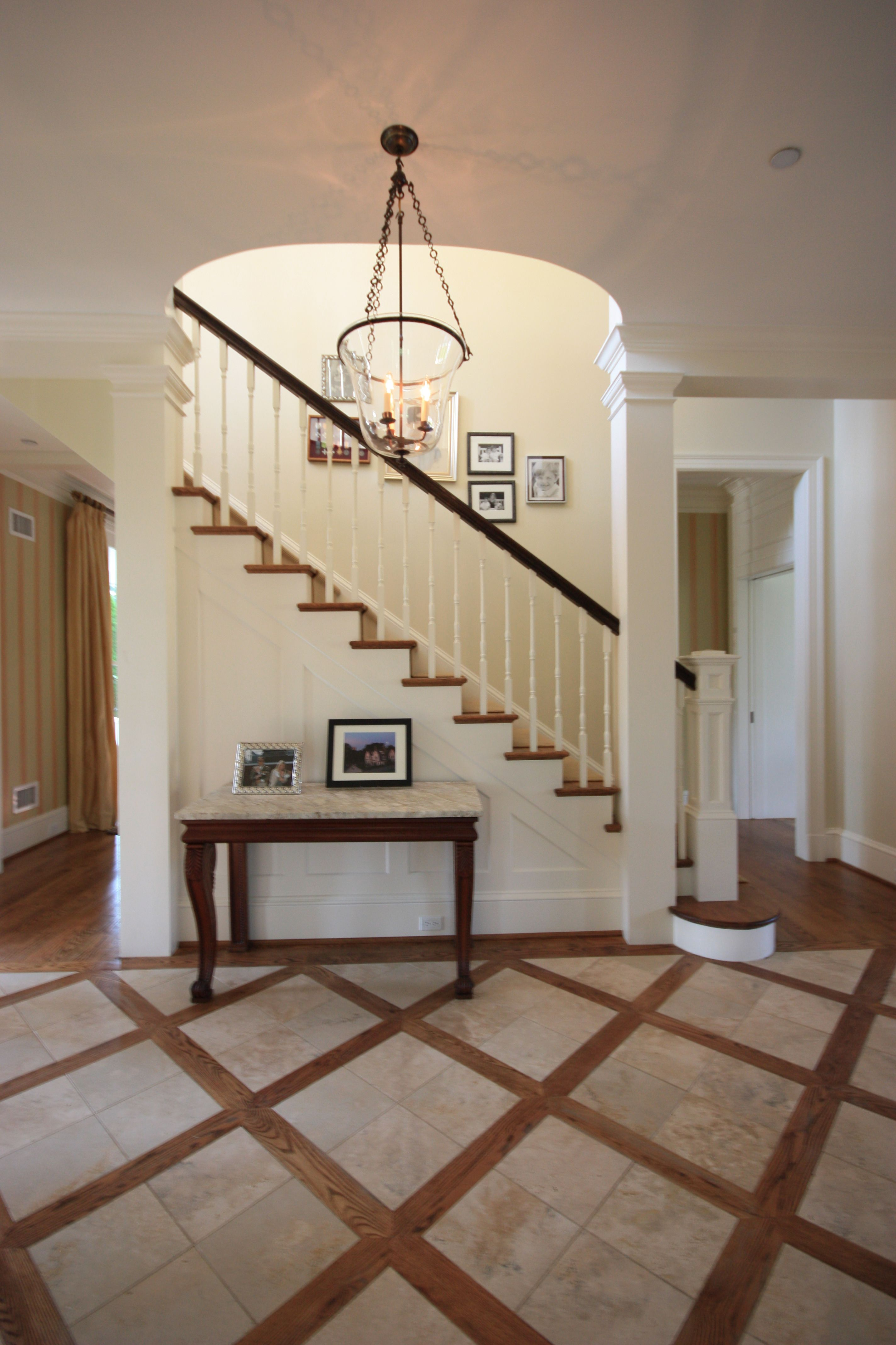 Stair Hall Photo Credit Dennis Hornick