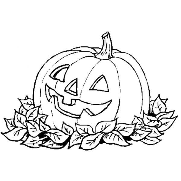 Disegno Di La Zucca Di Halloween Da Colorare Disegni Di