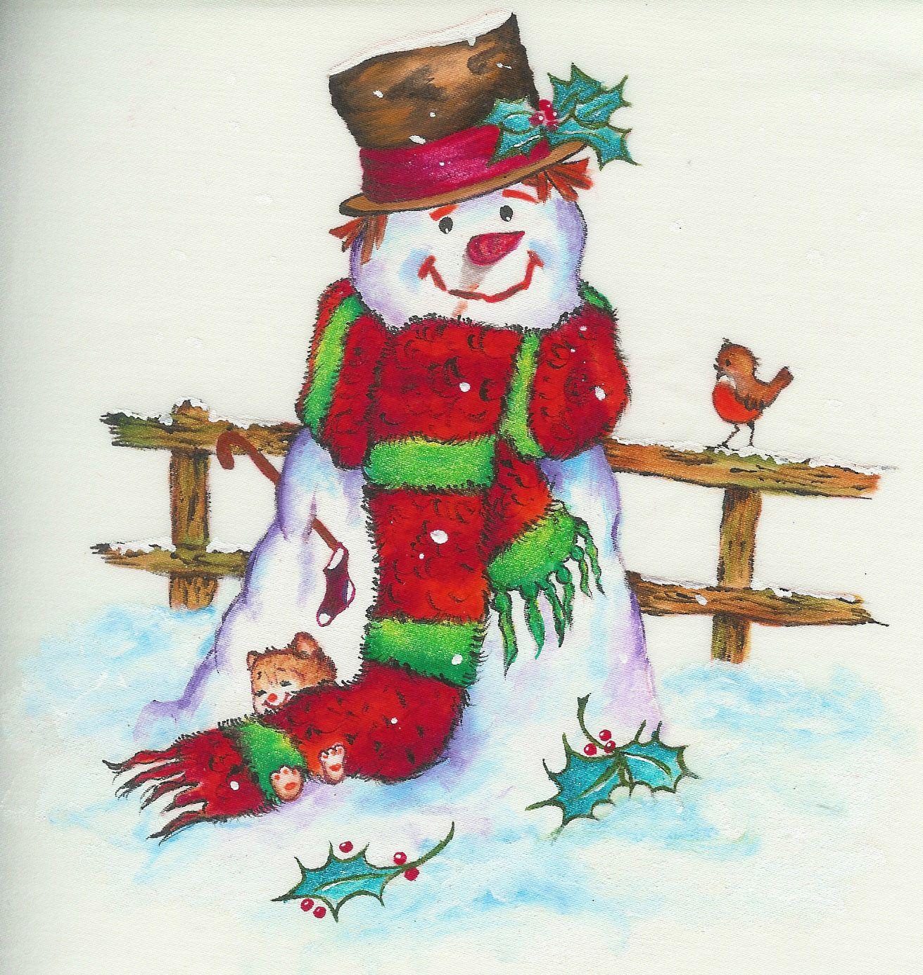 Pintura en tela navidad proyectos que intentar arte - Motivos navidenos para pintar en tela ...