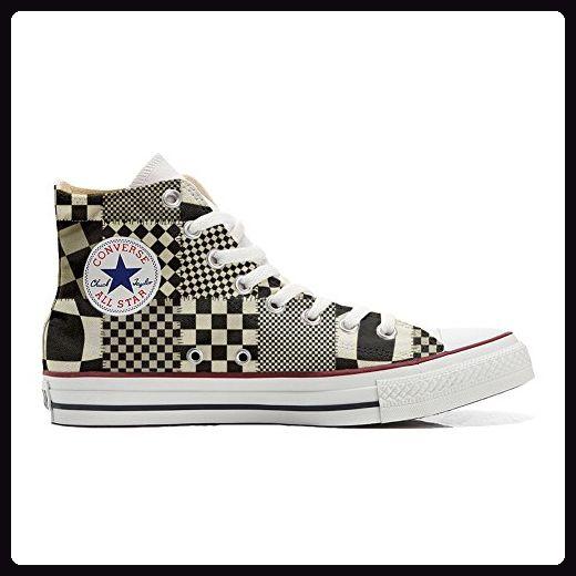 Converse Custom - personalisierte Schuhe (Handwerk Produkt) Tribal Texture  46 EU