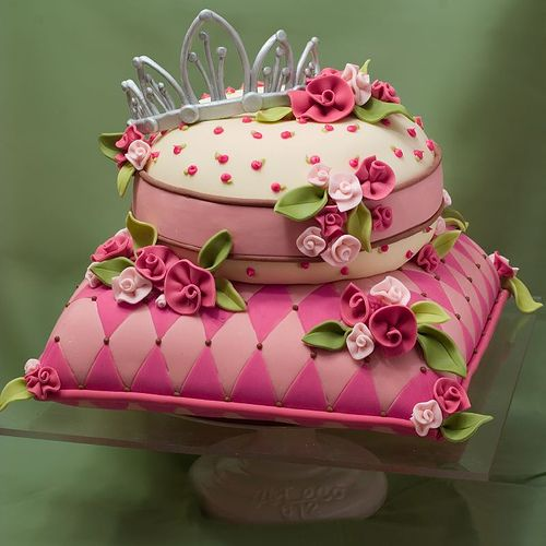 Pillow Princess Cake Birthday cakes Cake and Pillow cakes