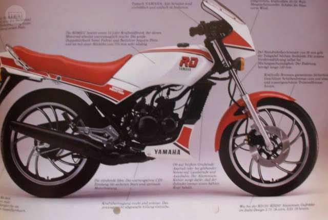 Célèbre Resultado de imagen de moto yamaha rd 80 lc | Colección Vehiculos  CN28