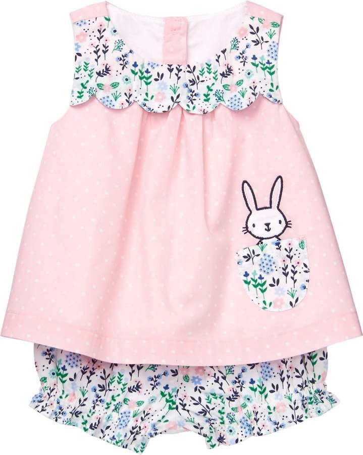 5a55c46f2412 Gymboree Bunny Dot Set