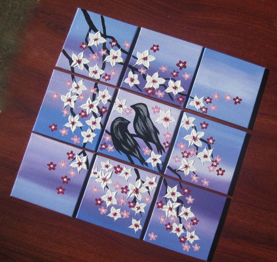 Cherry Blossom Paintings From Australia In By SheerJoy