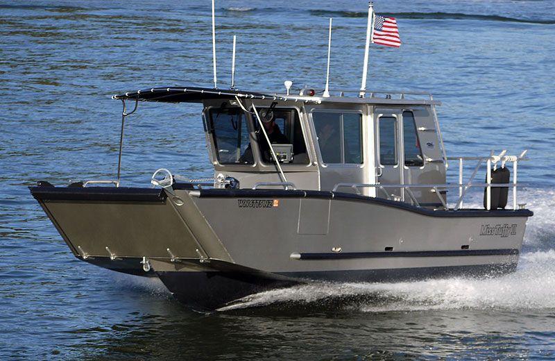 Munson aluminum boats custom welded aluminum boats for Custom aluminum fishing boats