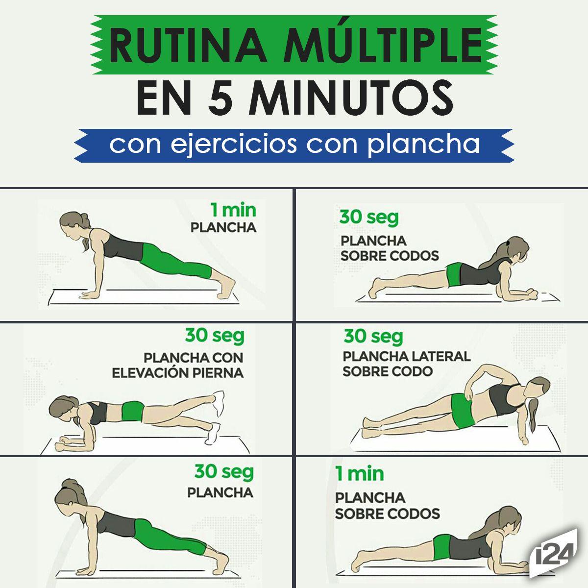 Rutina de ejercicios para bajar de peso y tonificar en