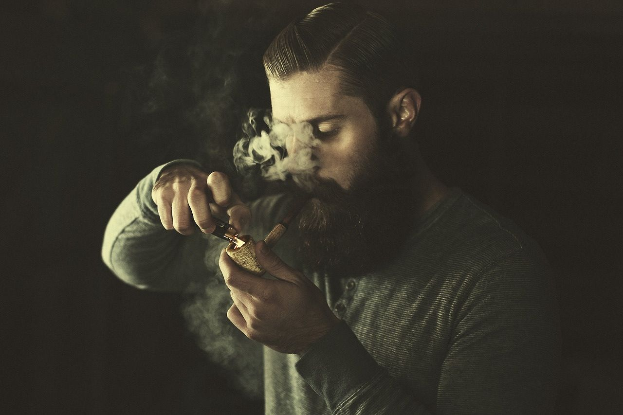 Haircuts for black men names beard  pipe  pelo y barbas  pinterest  pipes pipe smoking and