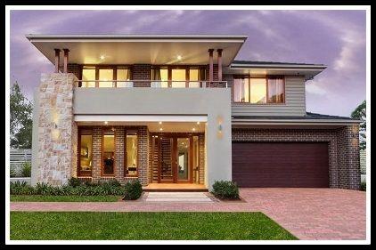 Casas modernos fachadas bonitas fachadas de casas for Construccion de casas pequenas modernas
