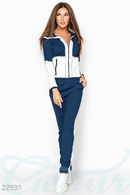 c227be09a205 Gepur   Спортивный костюм аппликация арт. 20235 Цена от производителя,  достоверные описание, отзывы, фото , цвет  , цвет  пудрово-серый