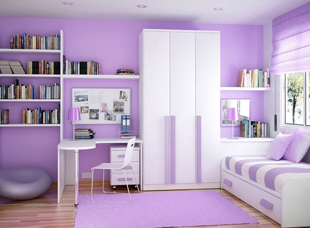 Bedroom Decorating Ideas Small S Bedrooms In White Purple Architecture