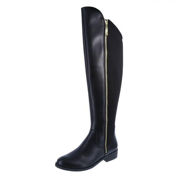 566adf83076 Christian Soriano for Payless black stretch boot  39.99